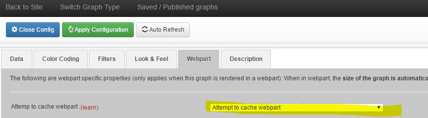 Do not cache webpart